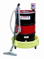 Wet Vac cleans up flammable liquids.