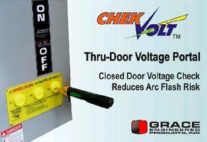 Voltage Portal minimizes arc flash risk.