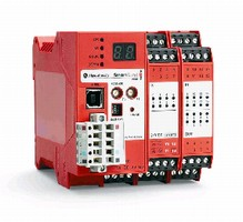 Safety Controller offers complex logic in compact footprint.