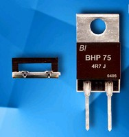 Power Resistors provide optimal heat dissipation.