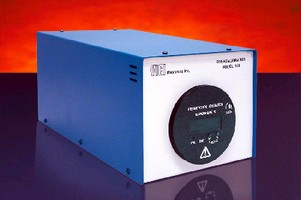 Portable Calibrator delivers precise concentrations of gas.