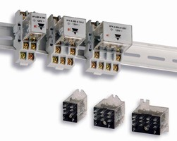 Electromechanical Relays come in 1-4 pole configurations.