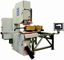 CNC Bandsawing System minimizes set-up process.