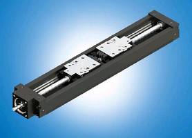 Linear Guide System provides max speed of 375 mm/s.