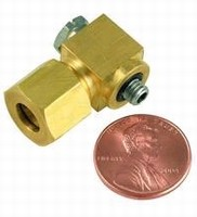 Miniature Compression Fittings suit 1/4 in. OD tubing.