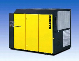 Rotary Screw Compressors range from 350-450 hp.