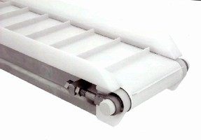 Cleated Conveyors handle round, small, or coated products.