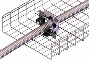 Heavy Duty FAS Roller attaches to tray systems.