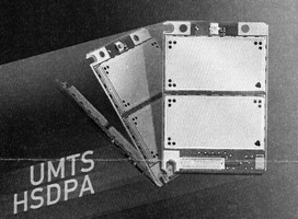HSDPA Module offers data rate of 3.6 Mbps.
