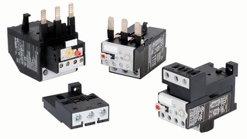 Overload Relays protect single and 3-phase motors.