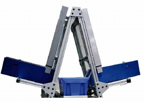 A-Frame Picking System handles up to 1,200 orders per hour.