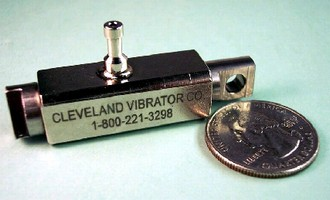 Air-Piston Vibrator comes in all stainless steel.