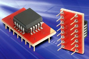 PLCC to DIP Adapters feature RoHS compliance.