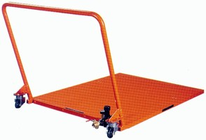 Material Handling System floats loads in any direction.