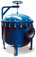 Bag Filter Housing suits high-flow rate applications.