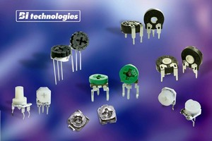 BI Technologies Expands Trimming Potentiometer Line with Open-Type Devices for Board Level Applications