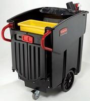 Mobile Waste Container facilitates collection, segregation.