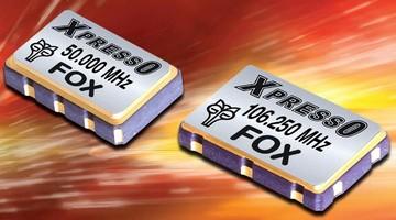 Fox Electronics Offers Next-Day Shipment of Its New, Low-Jitter Xpresso(TM) Oscillators