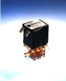 Inert Valve controls corrosive or high-purity fluids.