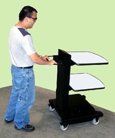 Powered Equipment Cart offers true mobility within facility.