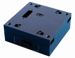 Micro Positioning Stage features standard travel of 25 mm.