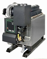 Commercial Gas-Fired Boilers feature onboard control panels.