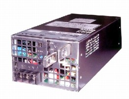 Switching Power Supplies provide 24, 28, or 48 V output.