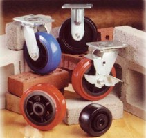Industrial Casters support tough applications.
