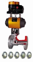 Control Valves handle critical throttling conditions.