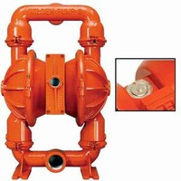 Metal Pump includes air distribution system.