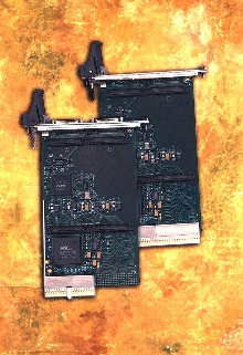 Carrier Cards connect I/O modules to CompactPCI computer.