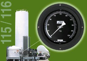 Tank Level Gauges measure cryogenic/liquefied gas.