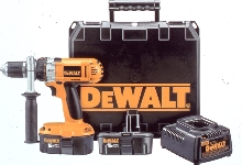 Cordless Drill/Driver has 3-speed transmission.