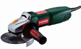 Angle Grinder includes electronic speed stabilization.