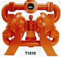 Metal Pump features 3 in. max solids passage.