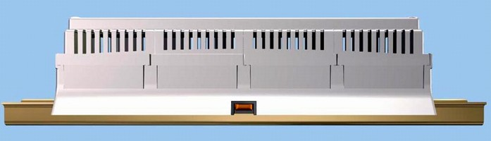 DIN Rail Mount Enclosures are offered in 12 module size.
