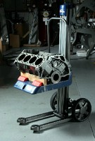 Customizable Lift Truck helps minimize injuries.
