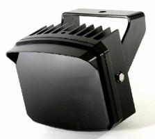 Illuminator achieves up to 650 ft active-IR illumination.