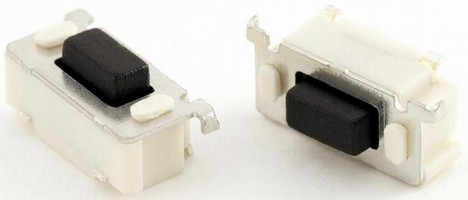 Right Angle SMT Tact Switch suits consumer electronics.