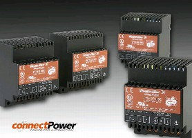DC Power Supplies feature space-efficient design.