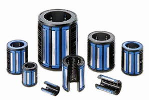 Linear Ball Bearings feature pre-lubricated, sealed design.