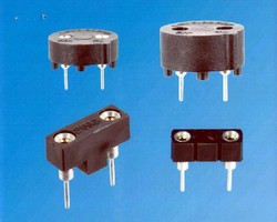 Fuse Holders accommodate subminiature fuses.