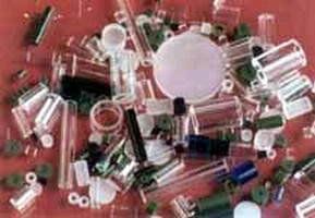 Glass Beads target electronics industry.
