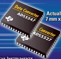 Analog to Digital Converters offer 210 MSPS operation.