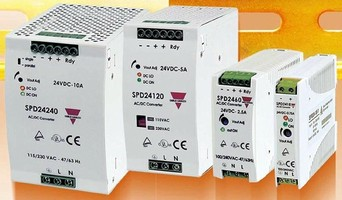 Master Distributors Offers SPD Series of Switching Power Supplies from Carlo Gavazzi