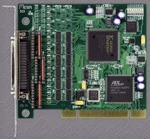 FPGA-Based I/O Card supports multiple RS-422/485 protocols.