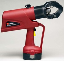 Battery Actuated Crimping Tool is hydraulically operated.