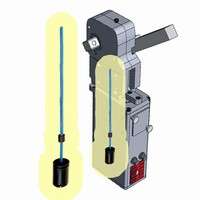 MTS Sensors Measure Stroke in Machine Fixture Set-Up Clamps