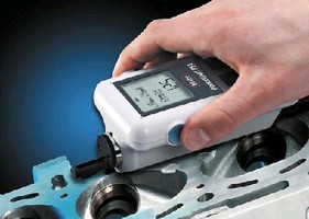 Portable Gauge measures 24 surface finish parameters.