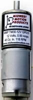 Mini DC Gear Motor develops 48 oz-in. torque at 118 rpm.